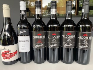 VERTICAL EQUALS HORIZONTAL SHIRAZ